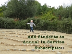 Add students to In-Serivce Annual Subscription at time of purchasing Subscription